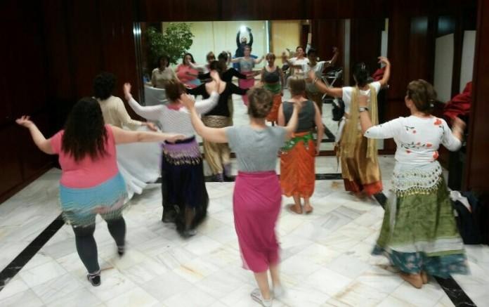 Danzaterapia oriental a beneficio de la asociación cordobesa ACOFI
