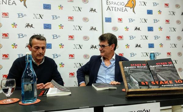 Presentación del libro «Stake 10, apuesta mortal», de José Alejandro Pérez